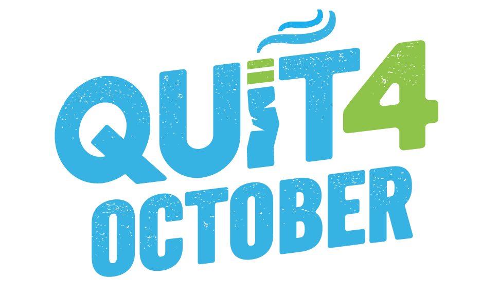 Get involved! QUIT4october